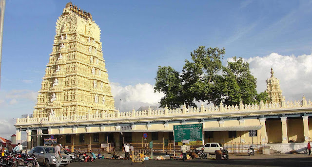 Tourist Destination in Mysore Chamundi Hills