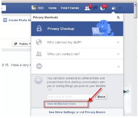 How Do U Unblock someone On Facebook - ArkanPost