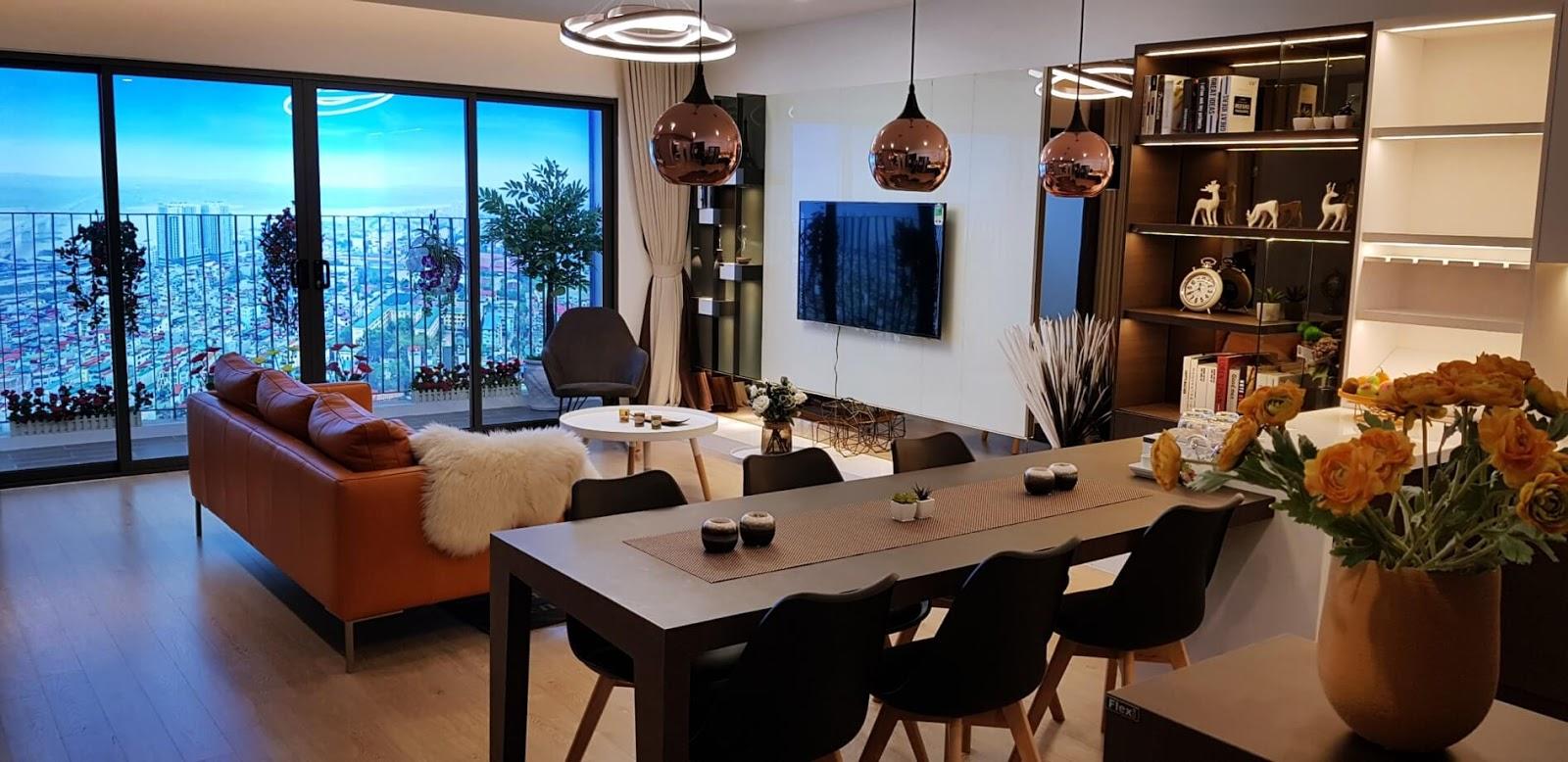 Căn hộ mẫu dự án chung cư 622 Minh Khai