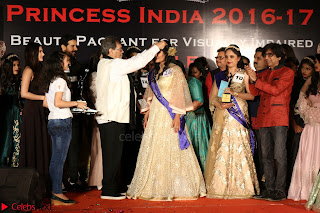 John Aham, Bhagyashree, Subhash Ghai and Amyra Dastur Attends Princess India 2016 17 062.JPG