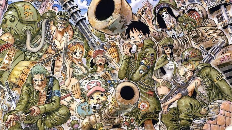 One Piece, Straw Hat Pirates, Soldiers, 4K, #6.135