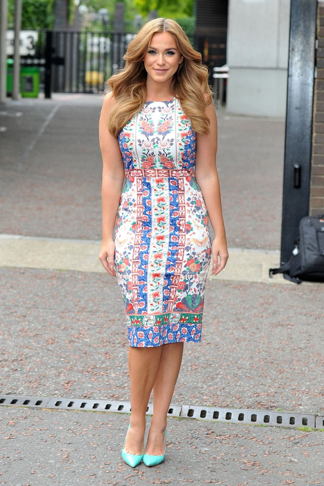 Judge Geordie actress Vicky Pattison at ITV Studios in London