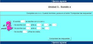 http://cplosangeles.juntaextremadura.net/web/lengua_tercer_ciclo/ortografia/sonido_z/sonidoz01.htm