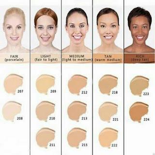 dermacol skintone shades