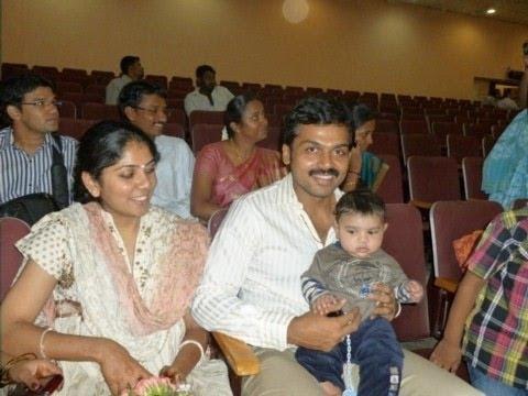 Karthi Daughter Umayal