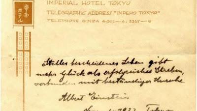 Cartas de  Einstein são leiloadas em Jerusalém