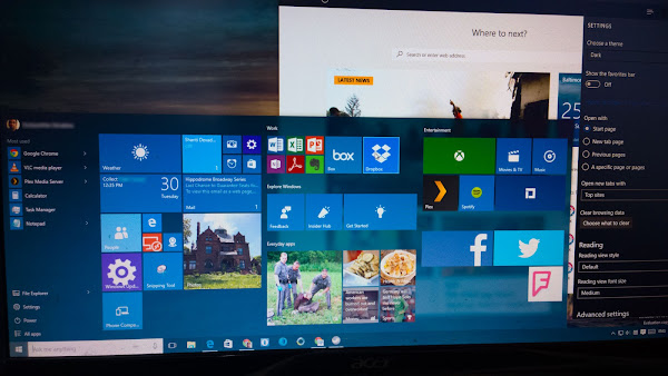 Windows 10 Insider Preview build 10162
