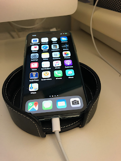 Coaster Holder Cradle with iPhone