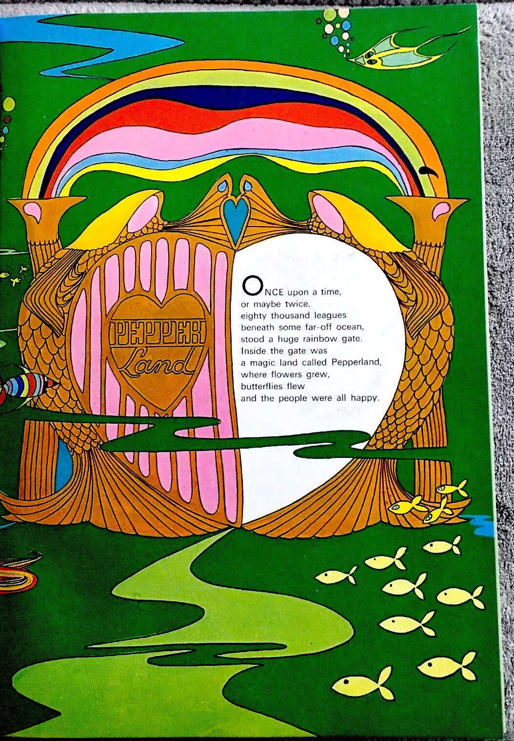 The Glass Onion Beatles Journal Vintage Yellow Submarine Gift Book