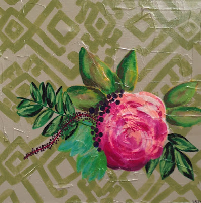 Lacey Craig | Rose | 24 x 24 | $240