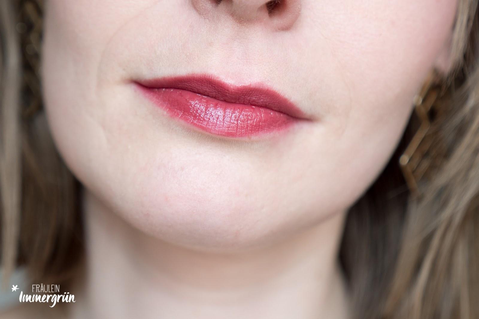 ARIA Pure Lipsticks von Hynt Beauty / Shiraz / Lippenstift vegan, natürlich / Swatches, Tragefotos