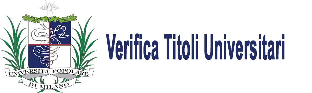 verifica titoli universitari