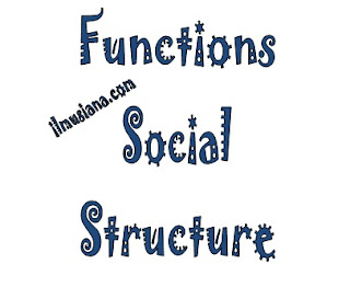 Functions and Forms of Social Structure
