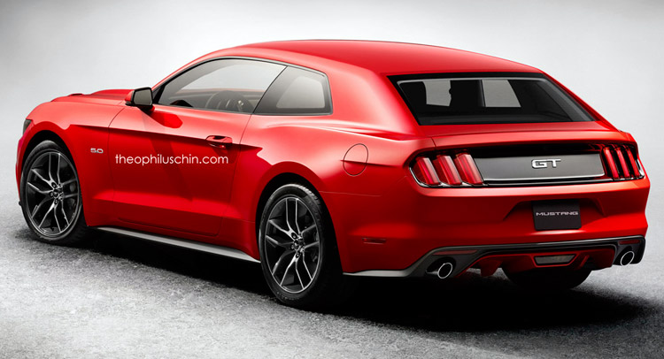 Mustang Is A Potencial Sub Brand For Ford And Shooting Brake One Of The Possible New 3 Body Styles With 4 Door Coupe Sedan