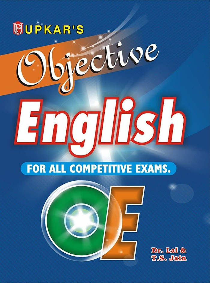 Objective English for All Competitive Exams PDF Download
