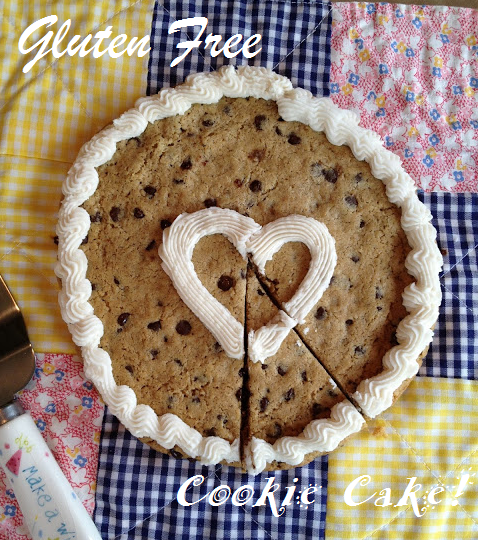 Amy's Mixing Bowl: Gluten Free Cookie Cake