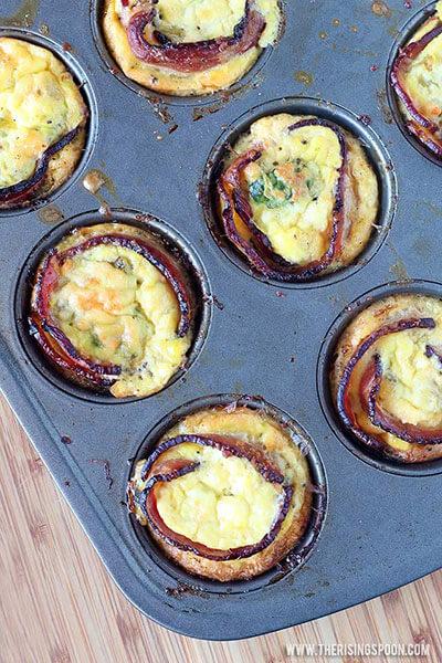 Tex Mex Egg Breakfast Muffins