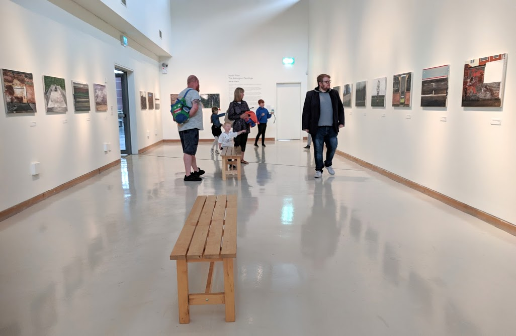 10 Reasons to Visit Woodhorn Museum (A Review) - art gallery
