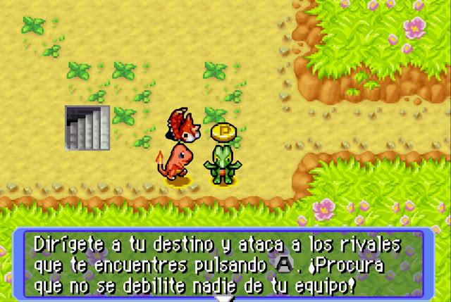 Pokémon Mundo Misterioso - Español - GBA - Captura 3