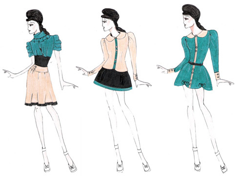 20d1ea4a7 Tati Simão Estilista  Desenho de Moda