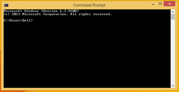 Command Prompt Screen