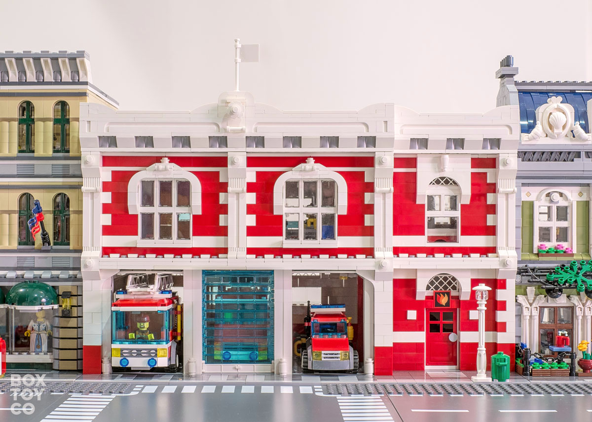 lego city fire station 60004 instructions