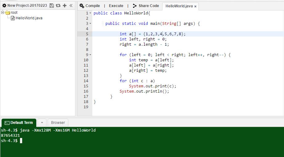 Thuật toán đảo ngược chuỗi trong Java ~ Thế Giới Giải Mã