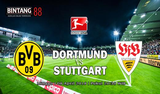 Prediksi Borussia Dortmund vs Stuttgart 8 April 2018