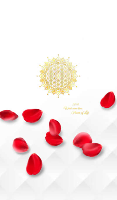 Wish come true,Rose & Flower of Life 2