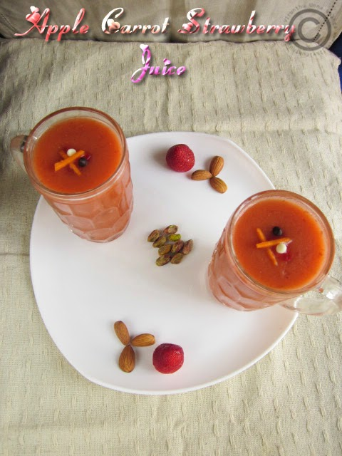 Apple-carrot-strawberry-juice