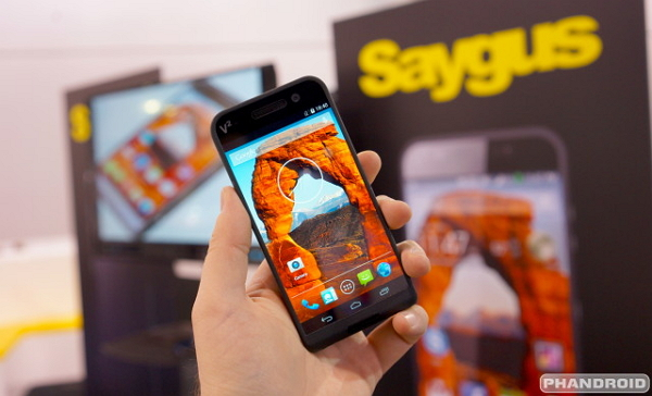 Saygus merupakan sebuah perusahaan produsen perangkat mobile asal Amerika Serikat Spesifikasi dan Harga Saygus V2 HP Android RAM 3GB Dual Kamera 21 MP & 13 MP