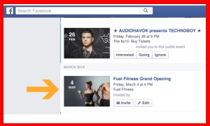 how to make a facebook event public after creating it