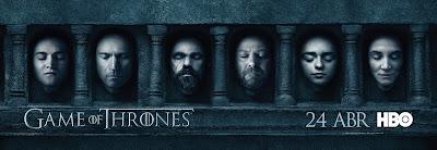 A nova temporada estreia no dia 24 de abril, simultaneamente com os Estados Unidos - Divulgação/HBO