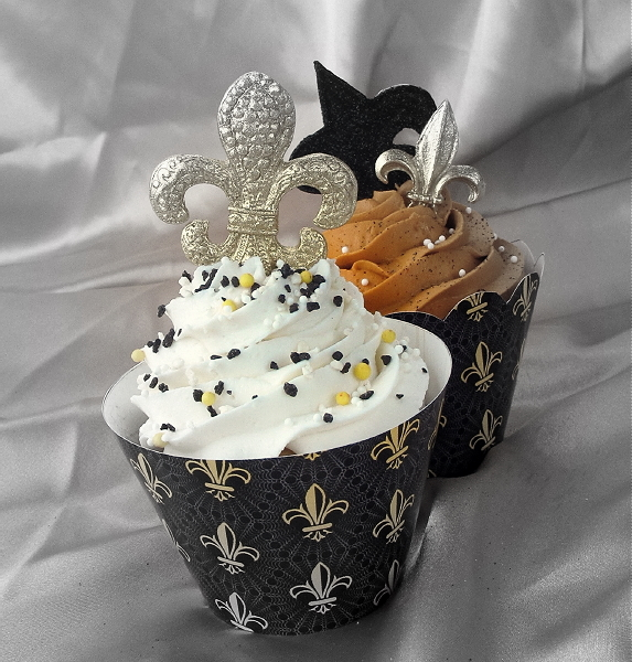 SugarEd Lagniappe: DIY Cupcake Wrappers