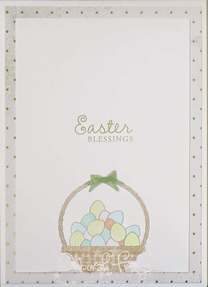 Easter inside - photo by Deborah Frings - Deborah's Gems