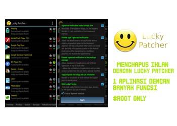 Download Aplikasi Android Lucky Patcher Satu Aplikasi Dengan Banyak Fungsi [Rooted]