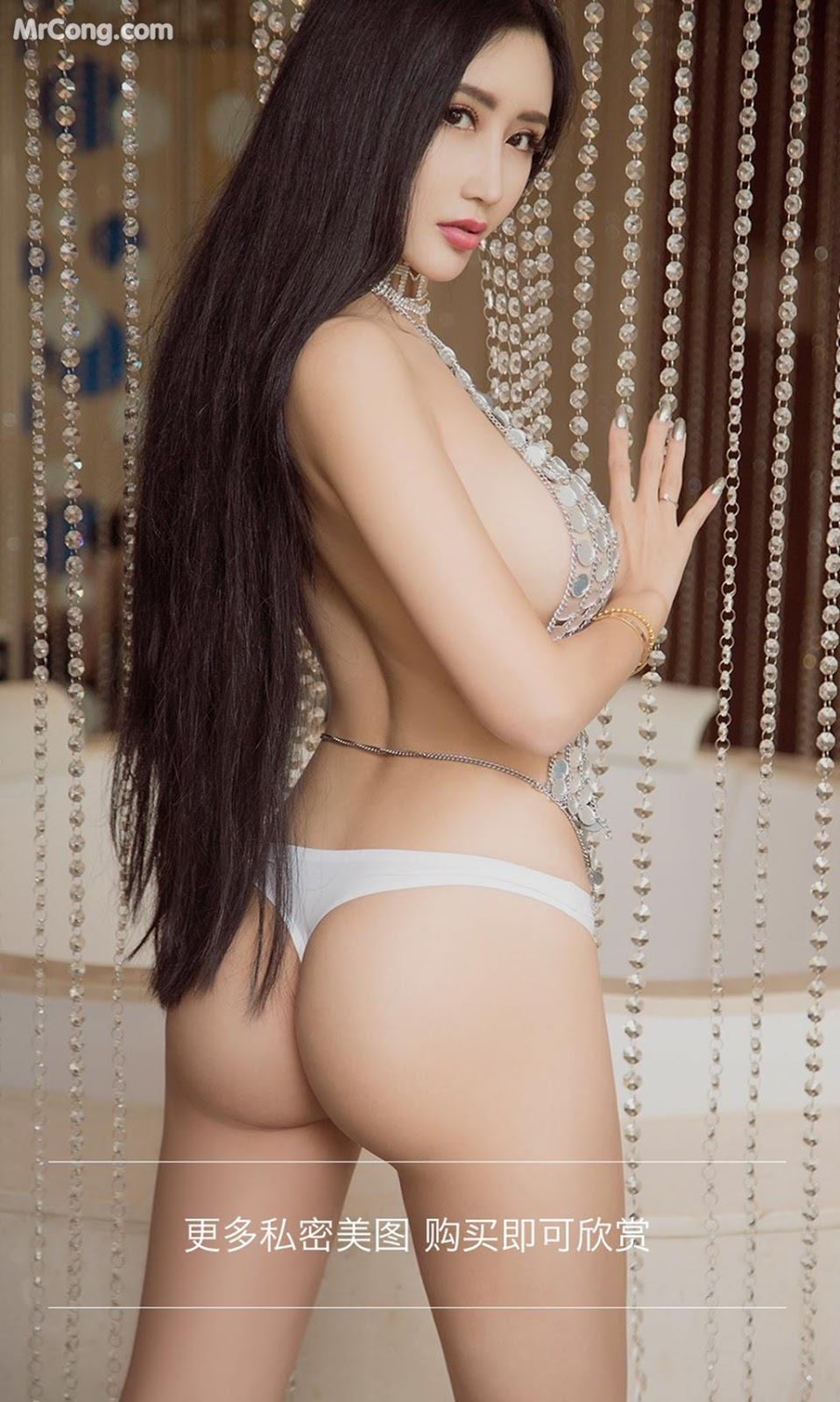 Image UGIRLS-Ai-You-Wu-App-No.811-Ai-Ni-Sha-MrCong.com-009 in post UGIRLS – Ai You Wu App No.811: Người mẫu Ai Ni Sha (艾霓莎) (40 ảnh)