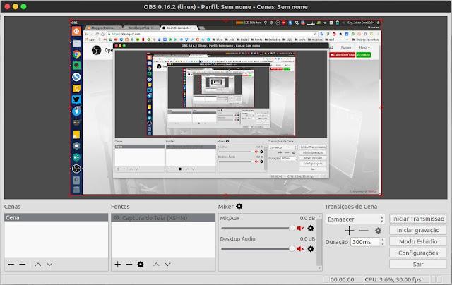 Como instalar o OBS Studio no Ubuntu e no Linux Mint
