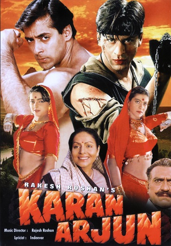Download Karan Arjun 1995 Hindi 480p DVDRip 450mb