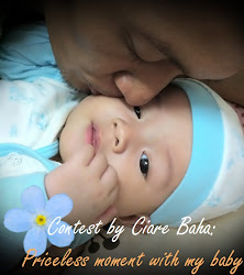 CONTEST BY CIARE BAHA: PRICELESS MOMENT WITH MY BABY