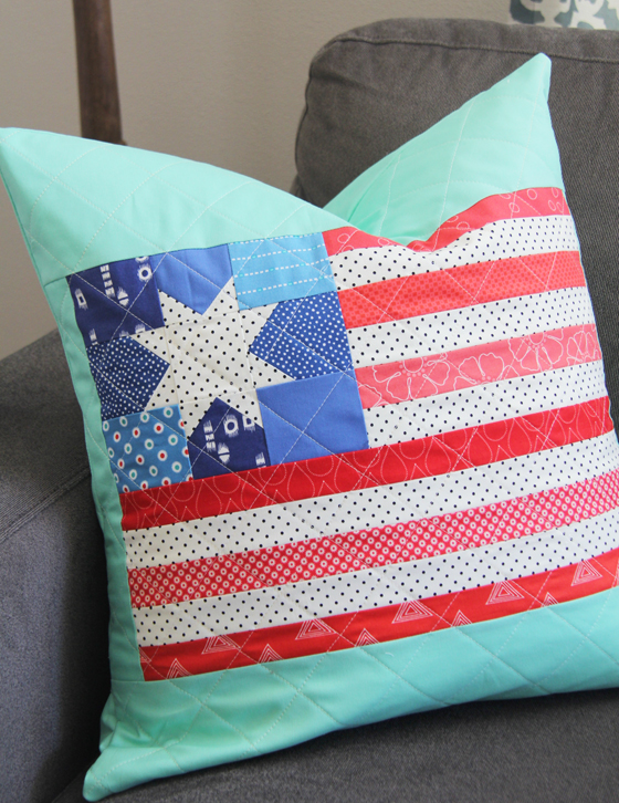 http://cluckclucksew.com/2015/07/flag-pillow-and-block-tutorial.html