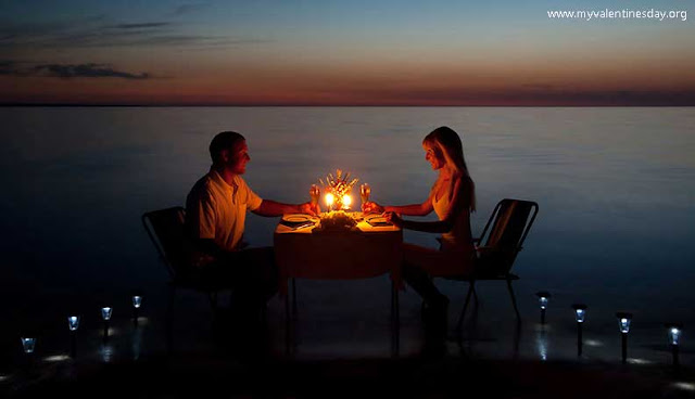 How to propose-Candle light dinner