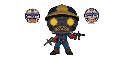 Halloween ComicFest Exclusive Guardians of the Galaxy Classic Star-Lord Pop! Marvel Vinyl Figure by Funko