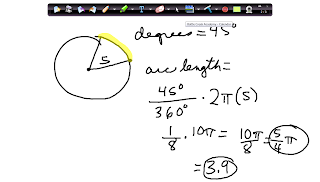 Dig Deeper Algebra 2 with Mrs. Belyea: Ch. 9 Section 2 Arc