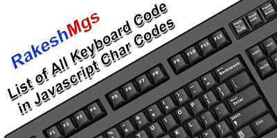 JavaScript Char Codes