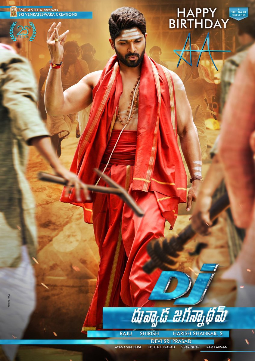 DJ Duvvada Jagannadham (2017) Movie Download In Hindi 300MB