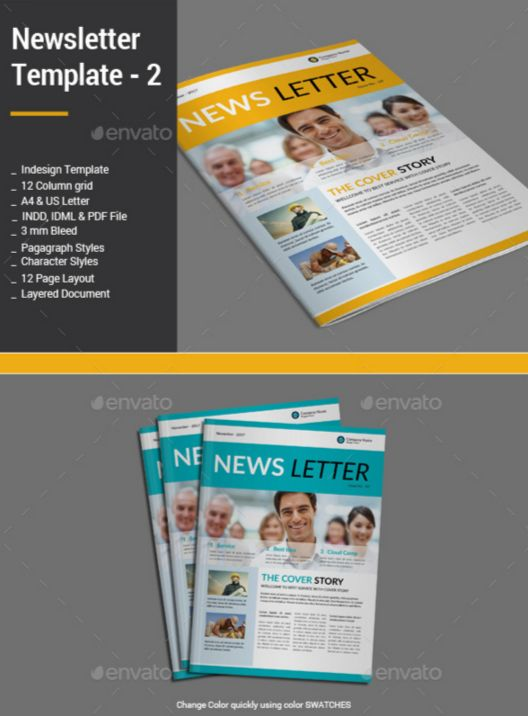 63. Newsletter Template - 2