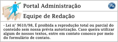 Assinatura redação portal administração