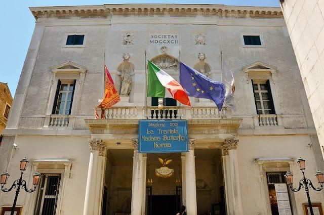 Teatro La Fenice em Veneza na Itália