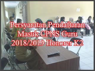 persyaratan cpns 2018 2019